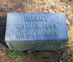 Infant Unknown Hedgpeth