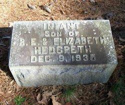 Infant Son Hedgpeth