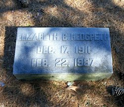 Elizabeth <I>Bracey</I> Hedgpeth