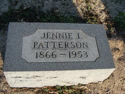 Jennie I <I>Dilworth</I> Patterson