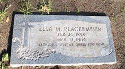 Elsie M. <I>Achelpohl</I> Plackemeier