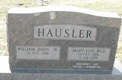 Mary Lois <I>Rice</I> Hausler