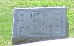 Margaret Catherine <I>Fallon</I> Dutton
