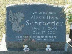 Alexis Hope Schroeder