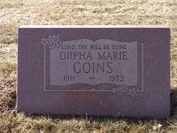 Orpha Marie Goins