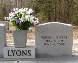 Virginia Ladora <I>Rivers</I> Lyons