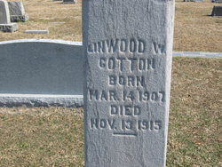 Linwood W Cotton