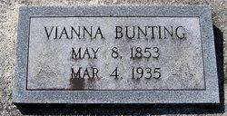 """Virginia Vianna """"Vianna"""" <I>Forrest</I> Bunting"""