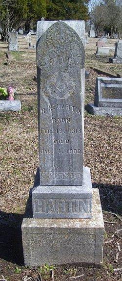 Robert K Hartin