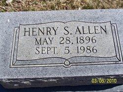Henry S Allen