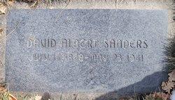David Albert Sanders