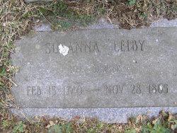 Susanna <I>Yerian</I> Leiby