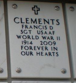 Francis D Clements