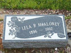 Lela <I>Robison</I> McAloney