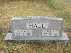 Rev Willie Irvin Hall