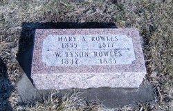 William Tyson Rowles