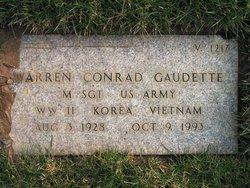 Warren Conrad Gaudette