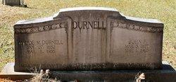 Maude <I>McCutchen</I> Durnell