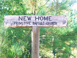New Home Primitive Baptist Church Cemetery