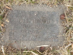 Paul Edward Davidson
