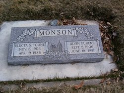 Electa Smith <I>Toone</I> Monson