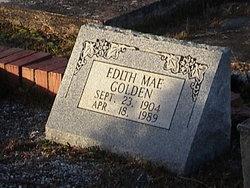 """Edith Mae """"Lady Mae"""" Golden"""