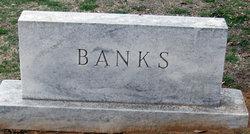 Allie Gertrude Sue <I>Cooke</I> Banks