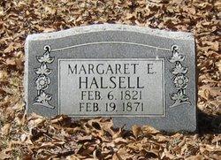 Margaret E <I>Seymore</I> Halsell