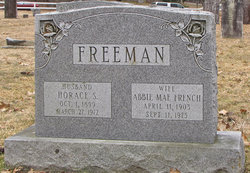 Abbie Mae <I>French</I> Freeman