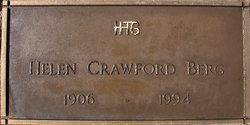 Helen <I>Crawford</I> Berg