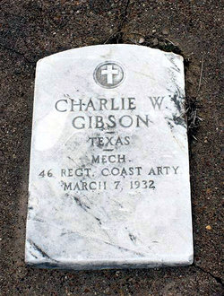 Charlie Walter Gibson