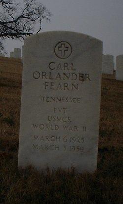 Carl Orlander Fearn