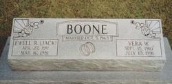 """Ewell R """"Jack"""" Boone"""