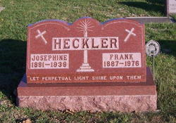 Josephine Pauline <I>Borger</I> Heckler