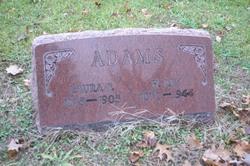 Laura F. <I>Nathie</I> Adams