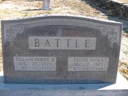 William Horne Battle, III