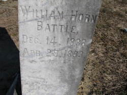 Dr William Horn Battle, II