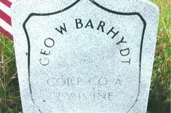 "Corp George Washington ""Geo"" Barhydt, Sr"