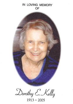 Dorothy Marion <I>Endres</I> Kelly