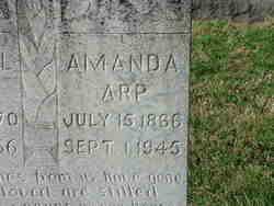 "Amanda ""Mandy"" <I>Clark</I> Arp"