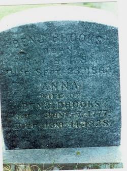 Anna <I>Warner</I> Brooks