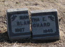 "Martha Ellen ""Mattie"" <I>Franklin</I> Blanchard"