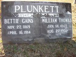 Bettie Gains <I>Boggs</I> Plunkett