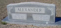 Thomas Livingston Alexander