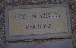 Oren M Shivers