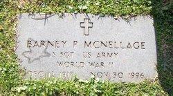 Barney P McNellage