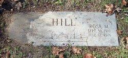 Rose <I>Manning</I> Hill