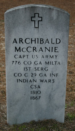 Capt Archibald McCranie