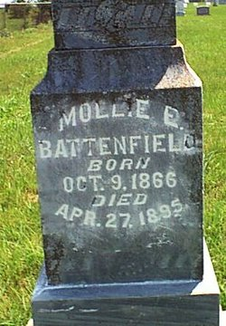 Mary Elmira Mollie <I>Pyle</I> Battenfield