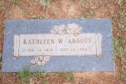 Kathleen W Abbott